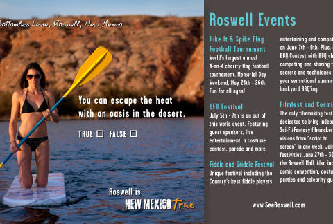 New Mexico True Mag Ad, Roswell