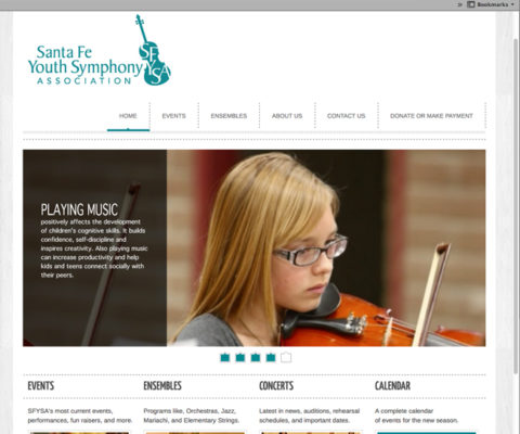 SFYSA Wordpress Site